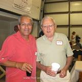 President Dick Gomes & Past President & Warehouse Manager George Morris