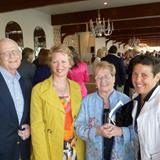 Bob Murray, Founder of The Family Pantry of Cape Cod, Elizabeth Bridgewater, CPD, Judy Murray and Pam Parmakian, HECH