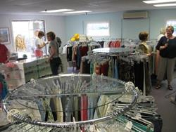 Click to view album: The new and larger Second Glance Thrift Shop is now open