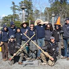 Click to view album: Americorp working the Garden April, 2018