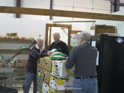 Click to view album: Thanksgiving 2010 - distribution Volunteers