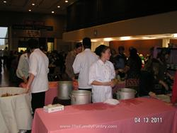 Click to view album: Cape Cod Potters Soup Bowls for Hunger event