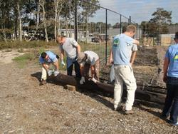 Click to view album: Americorps Helping in the Garden