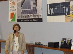 Click to view album: Solar Ribbon Cutting
